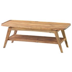 コーヒーテーブル Mikaela ミカエラ ローテーブル 木製 西海岸 インテリア 雑貨 西海岸風 家具