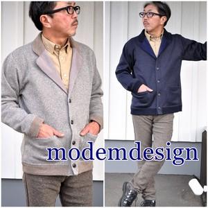 modemdesign MODEMDESIGN モデムデザイン 長袖  テーラードジャケット カーディガン メンズ スウェット 1707952