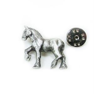 ピューター製ピンズ【HORSE】David Hinwood 90166-LP1084