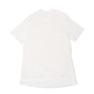 707CUM8-WHITE / フロントメッシュレイヤードTシャツ