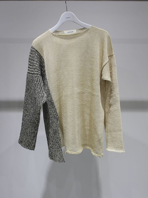 sulvam Bi-color knit