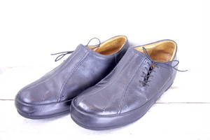 Side Race Design Leather Shoes