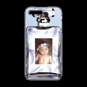 iPhonePlus・Android Lサイズ 香水ハードケース color:ブルー