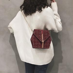 【バッグ】INS大人気ファッションチェック柄斜め掛けバッグ20838207