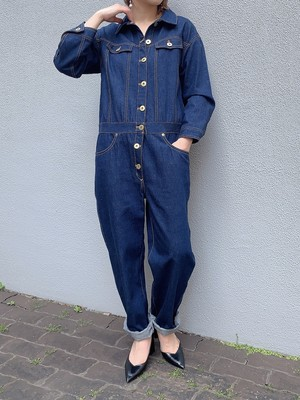 CaNARi original TSU NA GI denim jumpsuit
