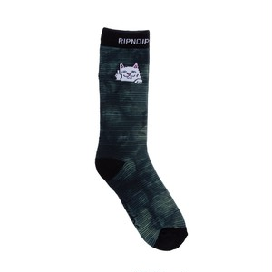 RIPNDIP - Peek A Nermal Socks (Swamp Dye)