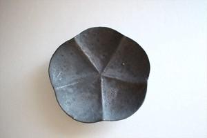 額賀円也|鉄釉 梅豆皿