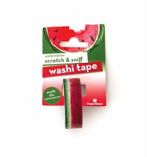 watermelon scratch & sniff washi tape /PH