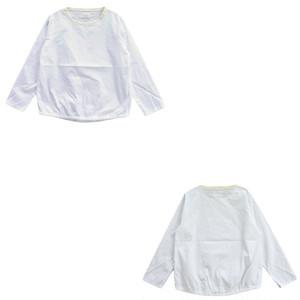 MANUAL ALPHABET ピンオックス布帛ロングスリーブTシャツ TNE-SH-050