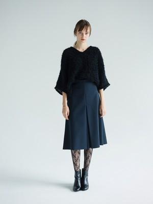 semi flared skirt