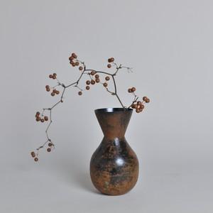ラスティ フラワーベース ナロウ〈花瓶 / ドライフラワー / ディスプレイ 〉