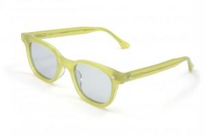 "EVILACT(イーブルアクト)eyewear ""HENDERSON"" grapefruits frame×smoke lens"