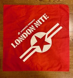 LONDON NITE バンダナ レギュラー ONE STAR