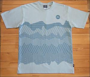 gym master マウンテンボーダーTee Tシャツ ライトグレー ジムマスター mountain ナノファイン加工 nanofine カットソー G433603