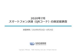 2020年7月 スマートフォン決済(QRコード/非接触)の満足度調査
