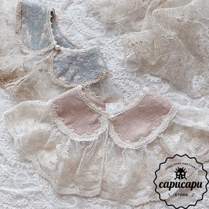 «sold out» Lace cape ver.2 レースケープ 付け襟 つけ襟