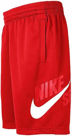 Nike SB(ジャージ ショーツ 短パン ショートパンツ)Dri-Fit Sunday Red Shorts ナイキ スケートボーディング 6193