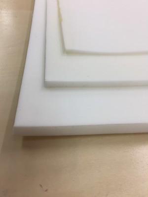 リュックの肩のクッション材 ポリエチレンフォーム 10mm厚 白 50cmx100cm