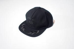 SQUADRON CAP (BLACK×BLACK ) / LOST CONTROL