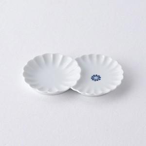 花紋 小分け菊皿