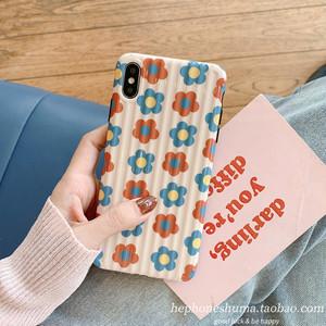 【小物】韓国系カートゥーン清新花柄IphoneX/XsMax/XRスウィートキュートIphone6s/7/8plusガーリースマホケース26778982