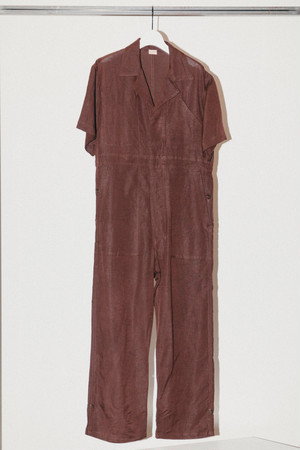 COOL LINEN S/S JUMPSUIT