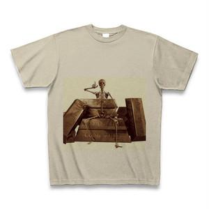 骸骨満足Tシャツ