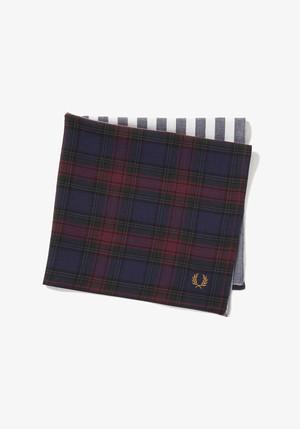 Woven Handkerchief Charcoal