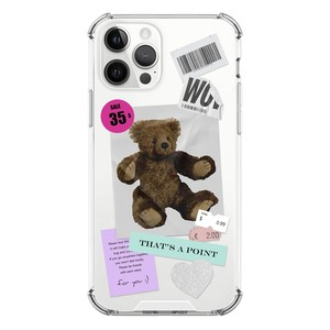 【that's a point】vintage teddy bear / iphone スマホ ケース カバー  ジェリー ソフト ハード  韓国 雑貨