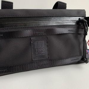 TOPO DESIGNS US Made Bike Bag/Ballistic Black