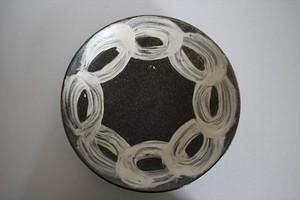 池田大介|刷毛目8寸皿