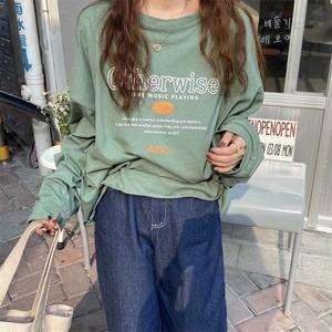 オーバーサイズロゴプリントTシャツ U6192