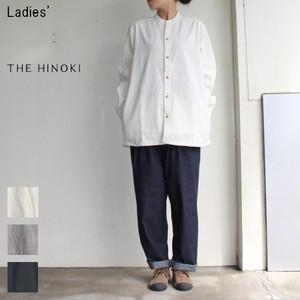 THE HINOKI スタンドアップカラーシャツ Stand Up Collar Shirts TH17W-9 (NATURAL)