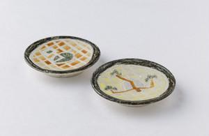 畑中圭介 パステルオリベ豆皿