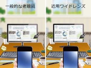 【レンズ交換】近用ワイドレンズ