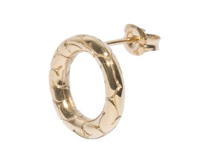 Brain Circle Piercing Jewelry  Gold-Coating