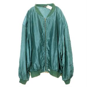 Silk blouson #0195