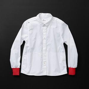 レディス pockets 白×赤