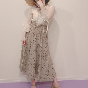 dot long skirt (S19-03027K)
