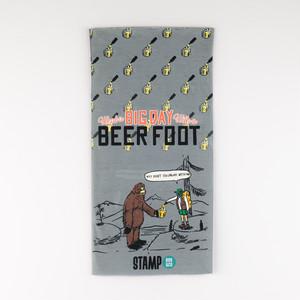 STAMP NECK GAITER (BEER FOOT)