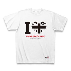 ブラックジャック【B】Tシャツ-I LOVE-