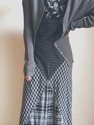 Patchwork Long-dress