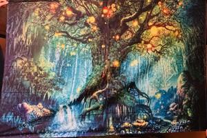 妖精の森 タペストリー