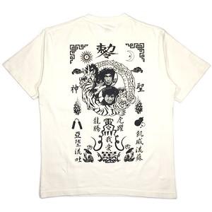 AV「 Kung-fu Legend 」Poke Tee Vintage WH
