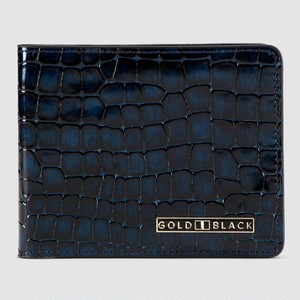 ゴールドブラック(GOLDBLACK) GM WALLET MILANO BLUE