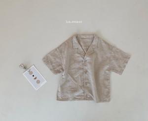 【予約販売】lolo shirt〈la camel〉