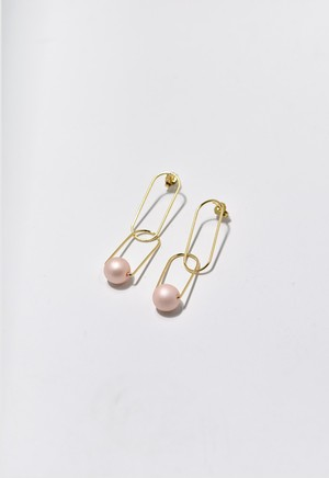 puzzle ring pierce Pale Pink