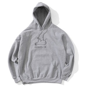 KEN KAGAMI MOUSE HOODIE(GRAY)