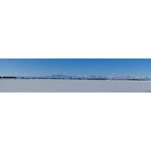 冬日高山脈パノラマ