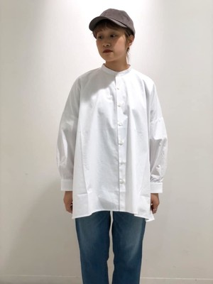 SETTO - FARMS SHIRT - white